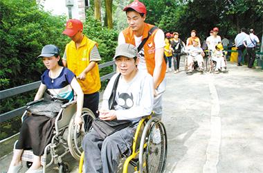 残疾人可通用APP来预约出行