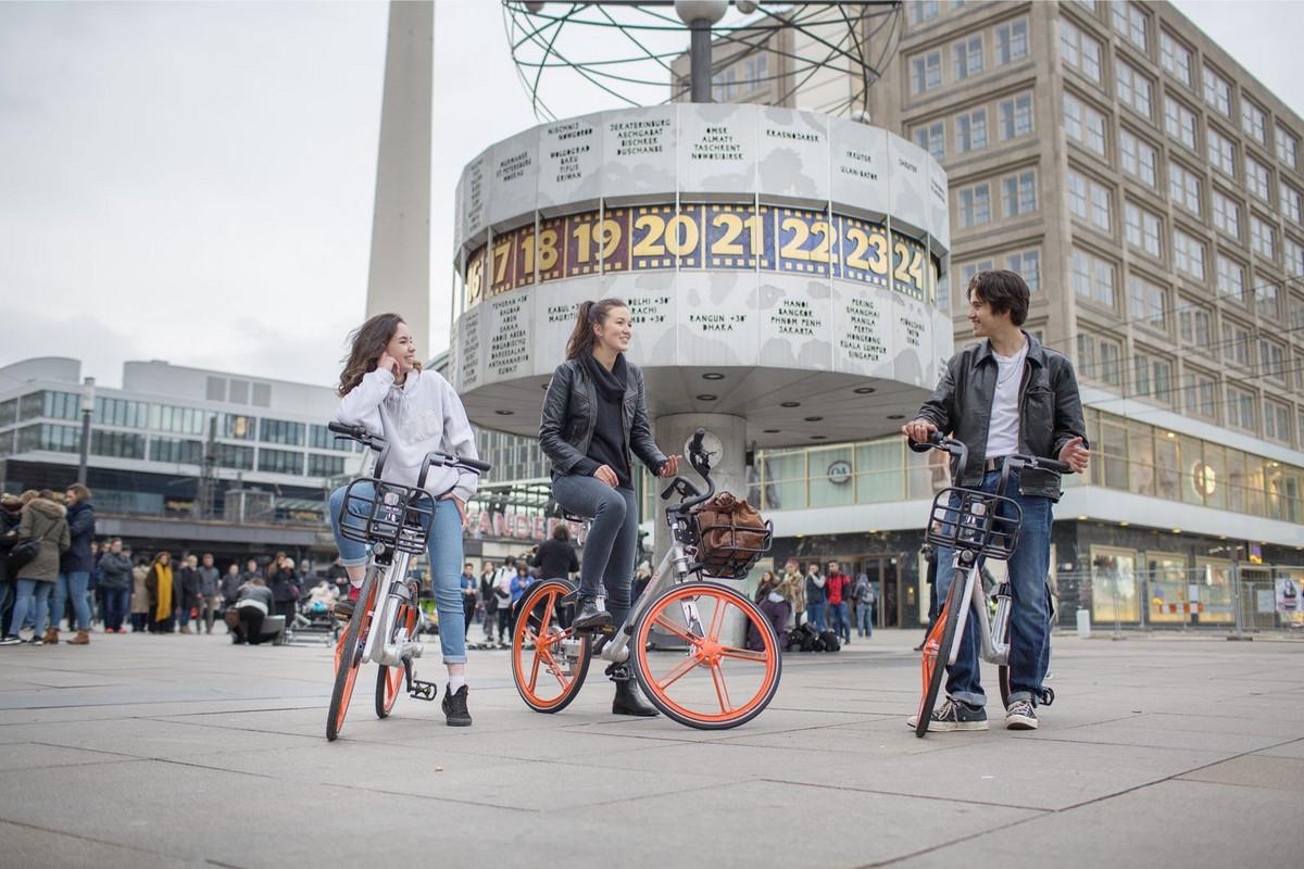 摩拜单车进入德国柏林,提前实现全球200 城目标 